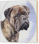 Bullmastiff 35 Wood Print