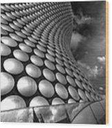 Bullring - Selfridges V2.0 Bw  Wood Print