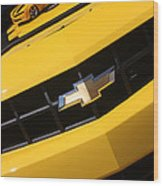 Bumble Bee Grill-7921 Wood Print
