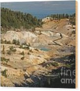Bumpass Hell Wood Print
