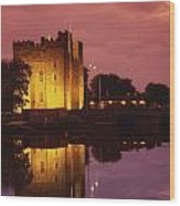 Bunratty, County Clare, Ireland Wood Print