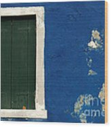Burano Italy 11 Wood Print