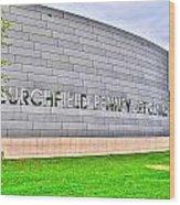 Burchfield Penny Art Center Wood Print