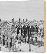 Burial Of Ulysses S. Grant Wood Print