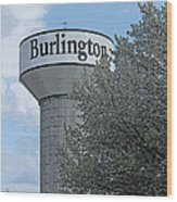 Burlington Wood Print