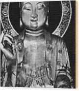 Burning Incense In A Buddhist Temple Sha Tin Hong Kong China Wood Print
