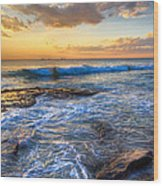 Burns Beach Wa Wood Print