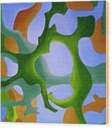 Bush Tango 12 Wood Print