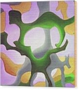 Bush Tango 4  Wood Print