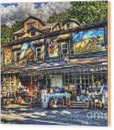 Business Near Thomas Wv Wood Print