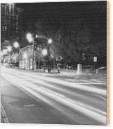 Busy Night On Peachtree _ Atlanta Wood Print