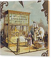 Butter Trade Card, C1880 Wood Print by Granger