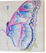 Butterflly Print Wood Print