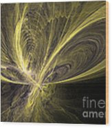 Butterfly - Abstract Art Wood Print