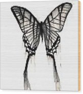 Butterfly Tears 2 Wood Print