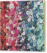 Button Button Wood Print