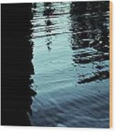 ..by The Lake.. Wood Print