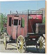 Bygone Transportation Wood Print