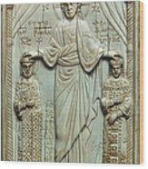 Byzantine Art Wood Print