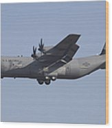 C-130j Super Hercules Of The 86th Wood Print