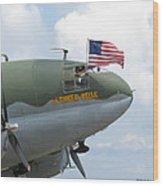 C-46 Tinker Belle Honors American Heros Wood Print