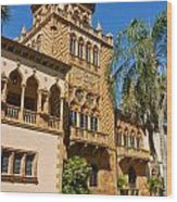 Ca D Zan  Winter Home Of John And Mable Ringling Wood Print