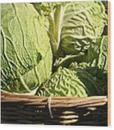 Cabbage Heads Wood Print