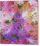 Cabbage Moon Wood Print