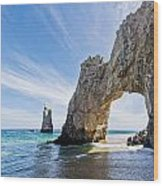 Cabo San Lucas Arch Wood Print