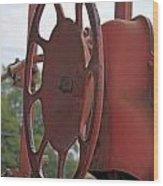 Caboose Control Wood Print