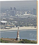 Cabrillo National Monument Wood Print