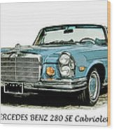 Cabriolet Wood Print