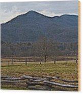 Cade's Cove - Smoky Mountain National Park Wood Print