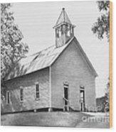 Cades Cove Methodist Church Wood Print