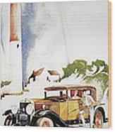 Cadillac Ad, 1929 Wood Print