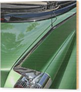 Cadillac Tail Fins Wood Print