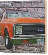Cadp243-12 Wood Print
