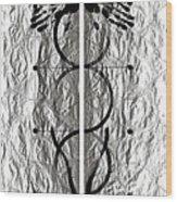 Caduceus Wood Print