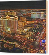 Caesars Palace On The Strip Wood Print