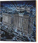 Caesars Palace Wood Print by Steven Richardson