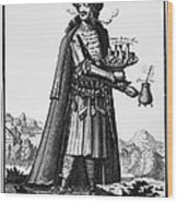 Cafe Owner, C1690 Wood Print