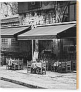 Cafe Sultan Wood Print