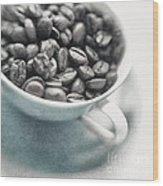 Caffeine Wood Print
