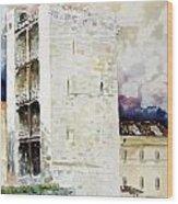 Cagliari - Torre Dell'elefante Wood Print