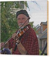 Cajun Music Wood Print