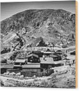 Calico Ghost Town 6 Wood Print