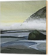 California Coast Two Wood Print