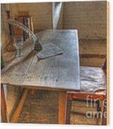 California Mission La Purisima Desk Wood Print