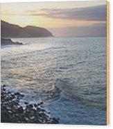 California Sunrise Wood Print