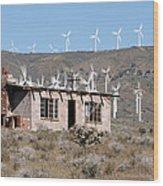 California Wind Wood Print